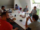 Treffen der Verantwortlichen für die Planung und Vorbereitung in Karlsbad (1/2)