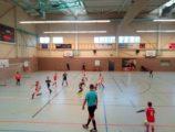 U9 na 11. ročníku halového turnaje kategorií U9 - U12 ve Zwickau (3/8)