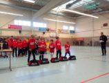 U9 na 11. ročníku halového turnaje kategorií U9 - U12 ve Zwickau (8/8)