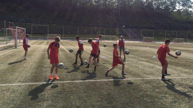 Gemeinsame Training U15 Fc Slavia K Vary Fsv Zwickau